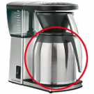 Melitta thermoskan Excellent Steel Therm